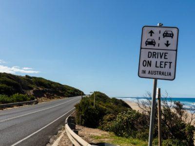 Drive on Left in Australia