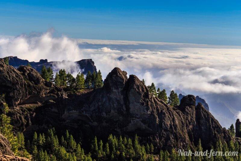 Gran Canaria über den Wolken