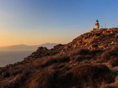 Leuchtturm am Kap Armenistis