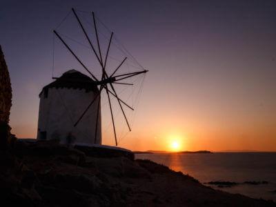 Kato Mili – Windmühlen von Mykonos